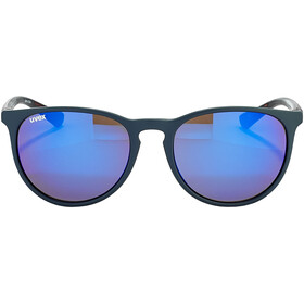 UVEX LGL 43 Okulary, blue havanna/mirror blue